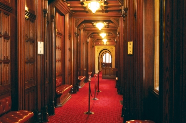 Lords voting Lobby