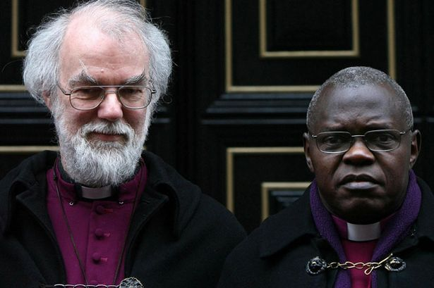 Abp Rowan and Abp Sentamu