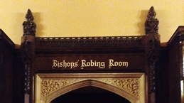 Entrance to New Robing Room
